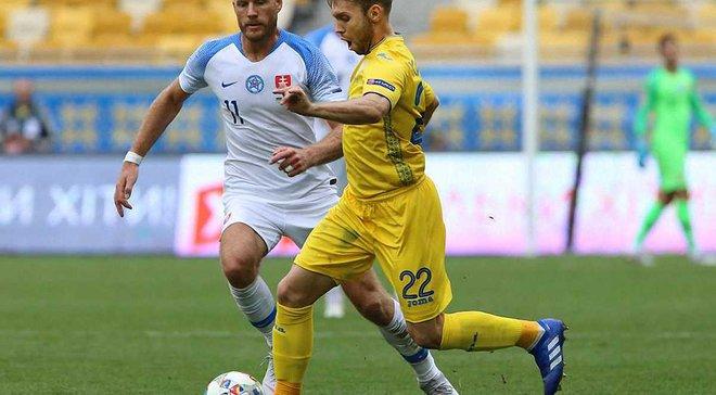 Україна – Словаччина: Instat визначив найкращого гравця матчу – несподіваний результат