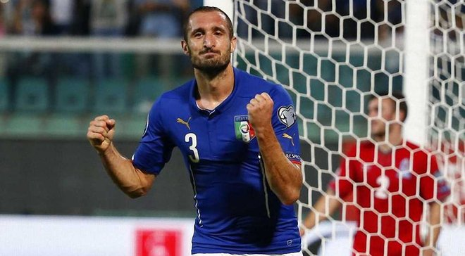 К'єлліні: Збірна Італії намагається побудувати нову ідентичність
