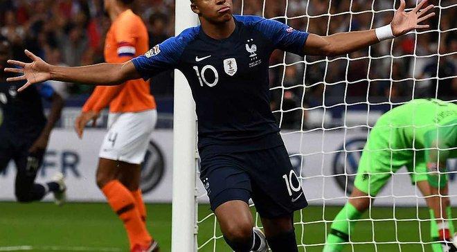 Ліга націй: Франція вдома перемогла Нідерланди