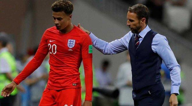 Деле Аллі покинув розташування збірної Англії через пошкодження