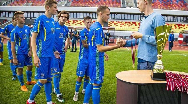 Україна U-19 тріумфувала на Кубку Федерації футболу Латвії