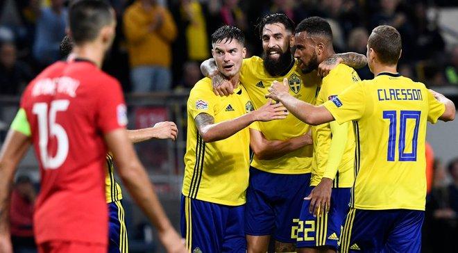Ліга націй: Швеція епічно поступилась Туреччині, Шотландія переграла Албанію