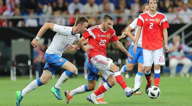 Росія – Чехія – 5:1 – відео голів та огляд матчу