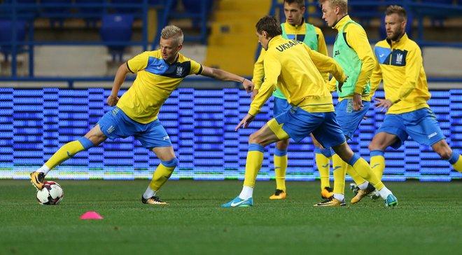 Украина – одна из 5 европейских сборных, которая не проигрывала в 2018 году, проведя более 5 матчей