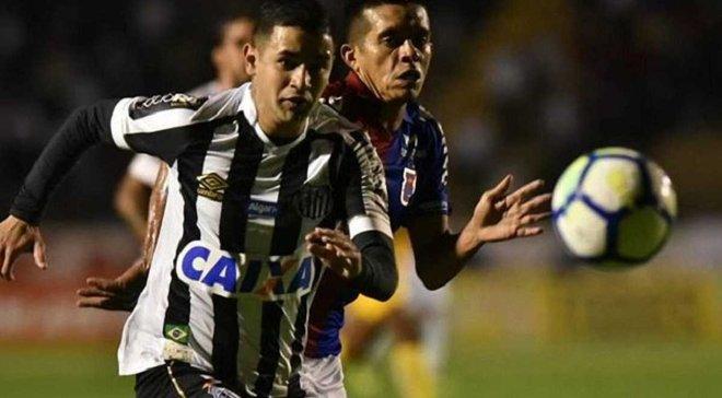Дерліс Гонсалес відзначився 4-м асистом за Сантос у 6 матчах