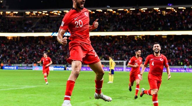 Швеция – Турция – 2:3 – видео голов и обзор матча