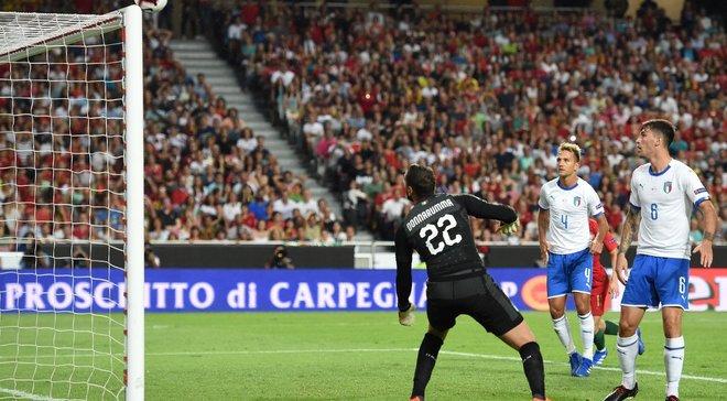 Сборная Италии впервые за 35 лет не смогла победить в четвертом матче подряд
