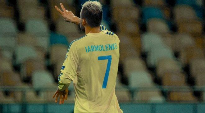 Ярмоленко забив 13 переможних голів за збірну України – більше лише у Шевченка