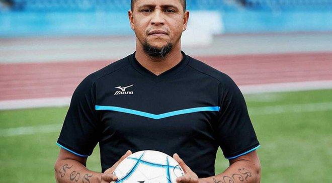 Роберто Карлос відзначився дублем у матчі з футзалу в Японії