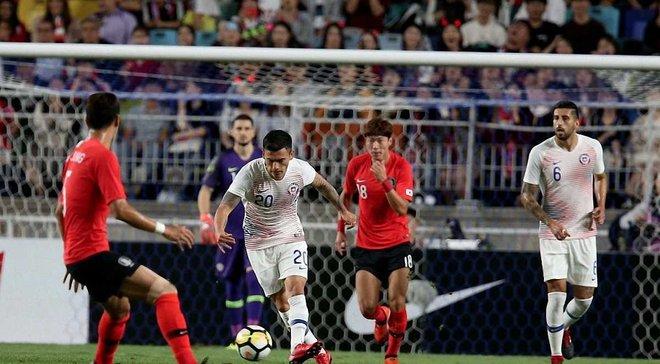 Товариські матчі: Японія розгромила  Коста-Ріку, Південна Корея та Чилі розійшлись миром