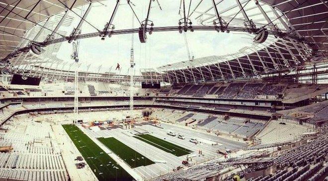 Тоттенхем платить будівельникам стадіону більше, ніж гравцям