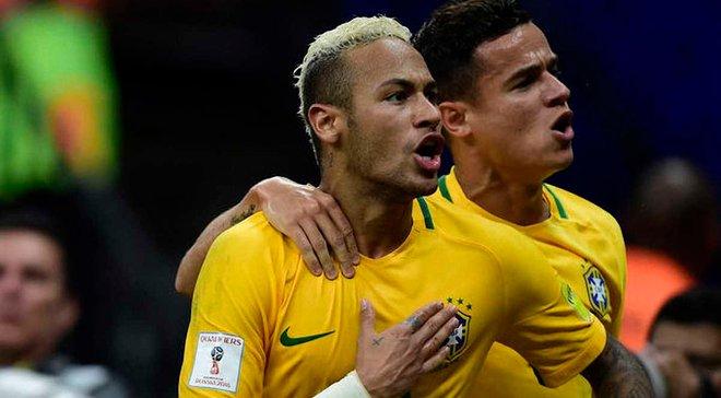 Коутинью опозорил Филипе Луиса на тренировке Бразилии – сумасшедшая реакция Неймара