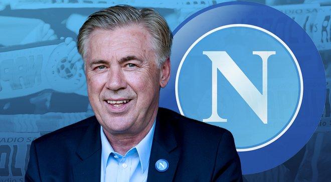 Де Лаурентис: Надеюсь, Анчелотти останется в Наполи на всю жизнь