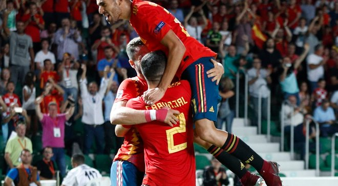 Головні новини футболу 11 вересня: Іспанія знищила Хорватію у Лізі націй, Україна U-21 здолала Андорру