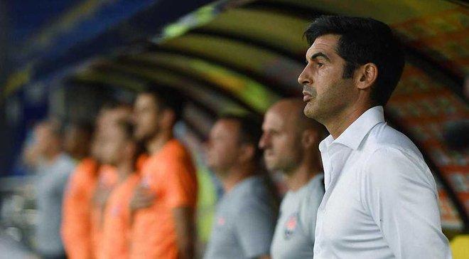 Фонсека: О Лиге чемпионов пока не думаем, внимание на Александрии