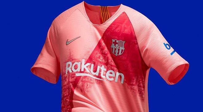 Барселона представила оригинальный третий комплект формы на сезон 2018/19