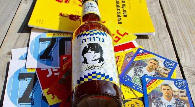 В Израиле выпустили пиво в честь украинского футболиста Надуды