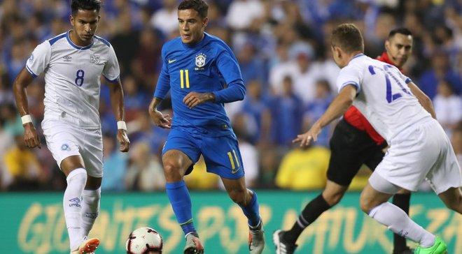 Сальвадор – Бразилія – 0:5 – відео голів та огляд матчу