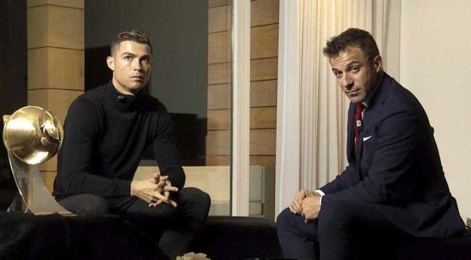 Роналду пародирует ведущего перед тренировкой Ювентуса видео