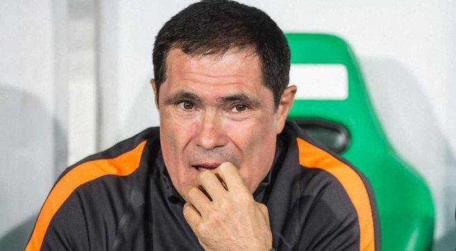 Тренер Молдовы Спиридон сконфузился на матче Лиги наций