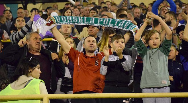 Ворскла продавать билеты на матч против Зари за 5 грн
