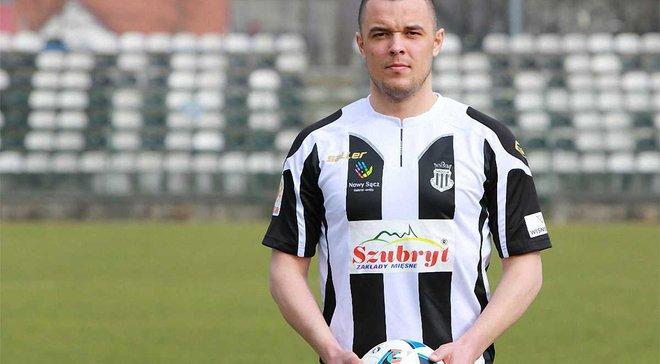 Відомий екс-форвард Олександрії Янчік перейшов у 8 дивізіон польського чемпіонату