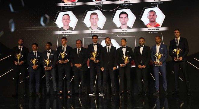 Турецька Суперліга нагородила найкращих у минулому сезоні: Пепе, Муслера та Куарежма серед номінантів