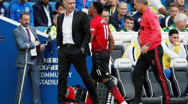 Стало відомо, чому Манчестер Юнайтед не продав Мартіаля влітку