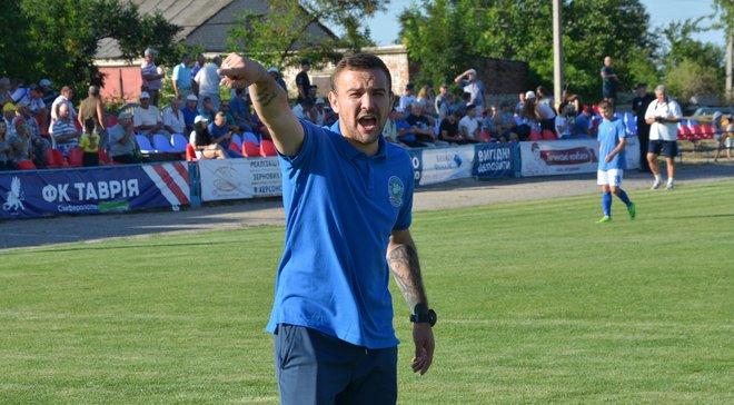 Тренер Кристала Овчинніков покинув команду