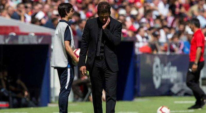 Сімеоне був освистаний фанами Атлетіко в матчі проти Ейбара