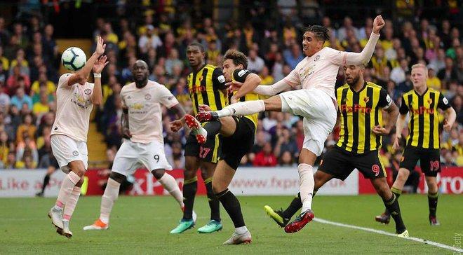 Манчестер Юнайтед минимально обыграл Уотфорд