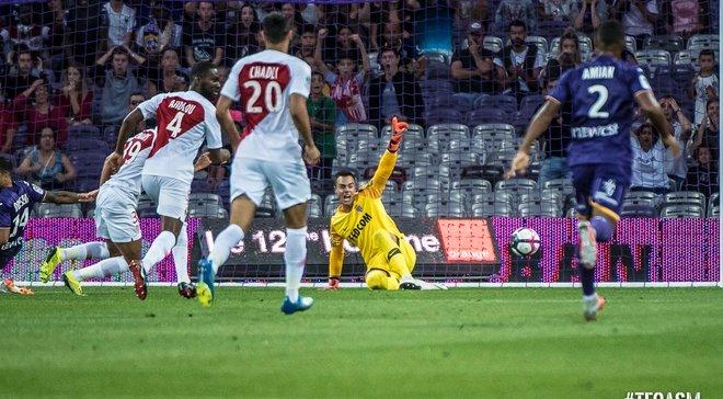 Лига 1: Монако потерял очки с Тулузой, Монпелье сыграл вничью дома, Лилль и Анже выиграли на выезде