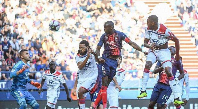 Кан – Ліон – 2:2 – відео голів та огляд матчу