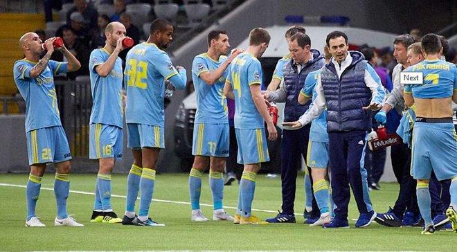 Астана перед матчем против Динамо неожиданно сыграла вничью с Кайсаром