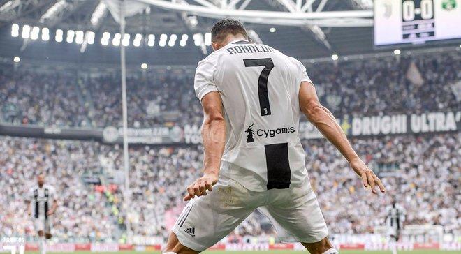 """""""Отсутствие голов давило на меня"""", – Роналду прокомментировал дебютные голы в Серии А"""