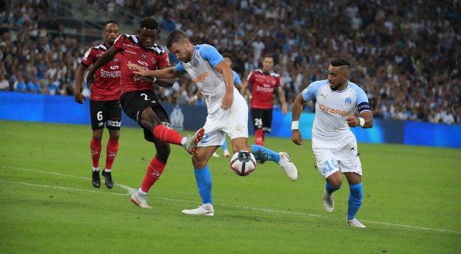 Ліга 1: Марсель розгромив Генгам, Нім та Бордо влаштували гольову феєрію, Реймс зіграв внічию з Нантом