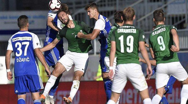Соперник Динамо в Лиге Европы Яблонец разгромно проиграл в чемпионате Чехии