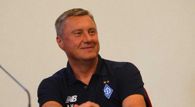 Хацкевич: Президент и футболисты Динамо доверяют мне, а я – им