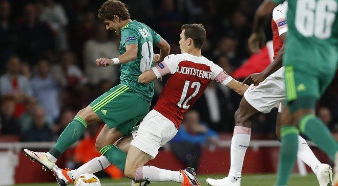 Арсенал – Ворскла – 4:2 – видео голов и обзор матча