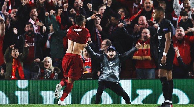 Ливерпуль – ПСЖ: поразительная разница между командами, глаз Фирмино и исторический матч Лиги чемпионов