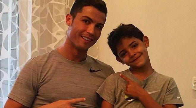 Роналду: Сын утверждает, что будет лучше меня