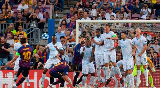Месси вошел в топ-7 лучших бомбардиров в истории футбола и превзошел Роналду в Лиге чемпионов