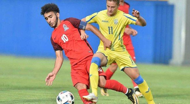 Сборная Украины U-17 разгромила сверстников из Азербайджана, забив 7 голов