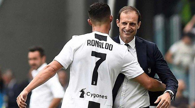 Аллегри: Ювентус и без Роналду доходил до финала Лиги чемпионов