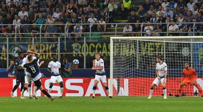 Икарди забил фантастический дебютный гол в Лиге чемпионов ударом издалека