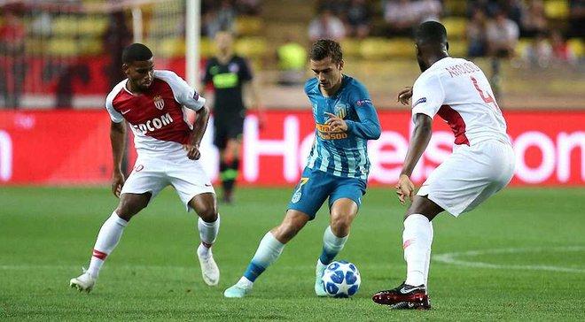 Ліга чемпіонів: Атлетіко в напруженому матчі здолав Монако, Борусія Д обіграла Брюгге