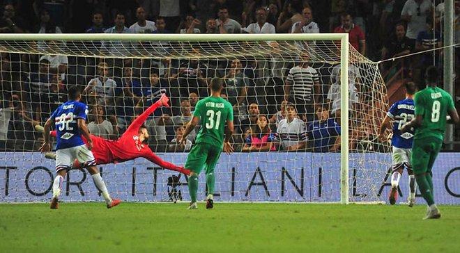Фіорентина і Сампдорія не виявили сильнішого у матчі за Лігу чемпіонів