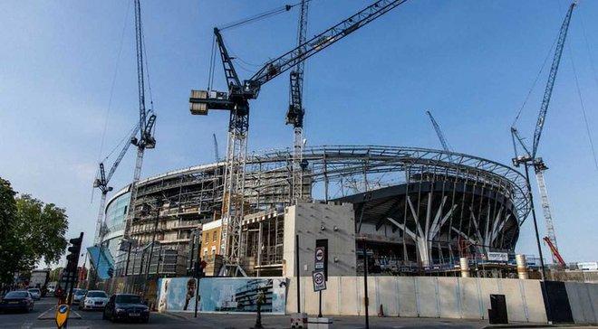 Новый стадион Тоттенхэма не будет готов к 2019 году