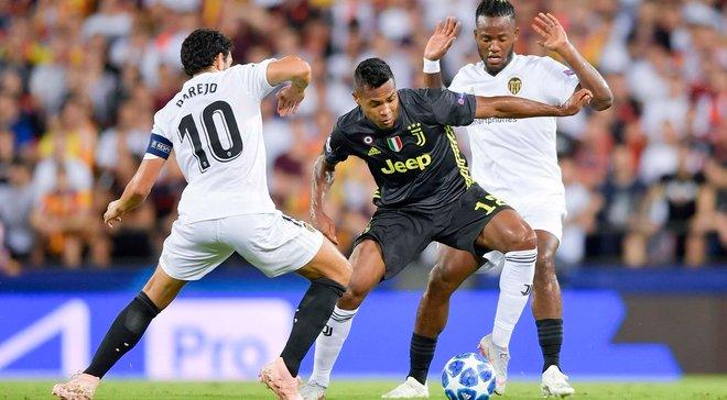 Лига чемпионов: Ювентус без помощи Роналду победил Валенсию, Манчестер Юнайтед не заметил Янг Бойз