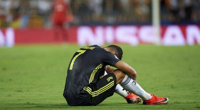 Роналду до вилучення проти Валенсії залишався безкарним у 20 випадках – список усіх жертв португальця